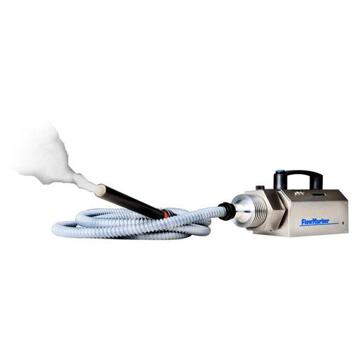 FlowMarker avec Hydra - générateur de fumée CMI pour la visualisation des flux d'air