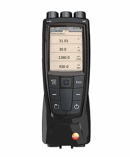 Anemometer testo anémomètre multifonction Testo 480