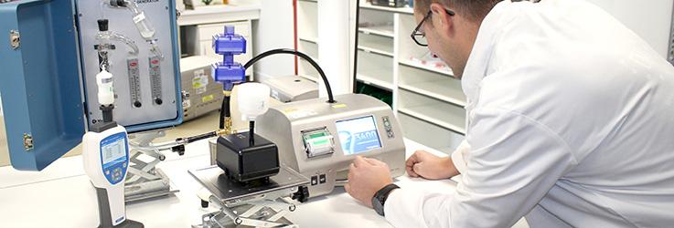 calibration étalonnage compteur de particule