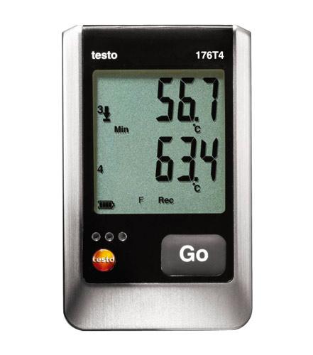 Testo 176 T4 testo data logger enregistreur de température contrôle