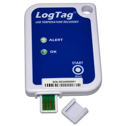 Logtag® USRIC-4 - USRIC-4 logtag recorders logger temperature enregistreur de temperature enregistrements de données pour le transport le stockage et la chaîne du froid
