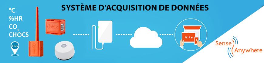 SenseAnywhere Data logger système d'acquisition de données, surveillance de l'environnement