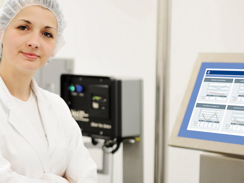 Ci precision monitoring for pharmaceutical production