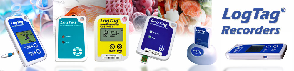 LogTag recorder transport data loggers enregistreur de donnée