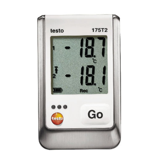 Testo 175 T2 - Test - Data logger - enregistreur