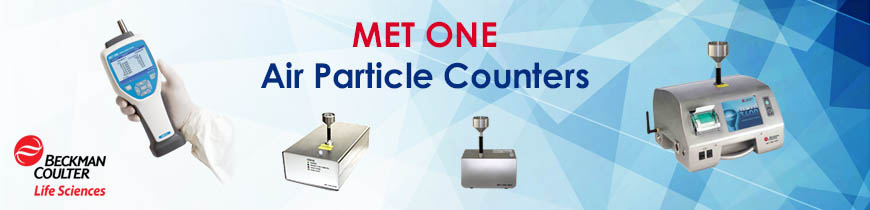 Particles counting Met One CMI Beckman Counter Particle counter