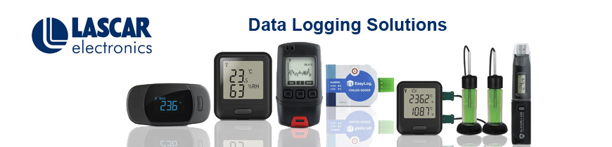 Data logger family lascar banner