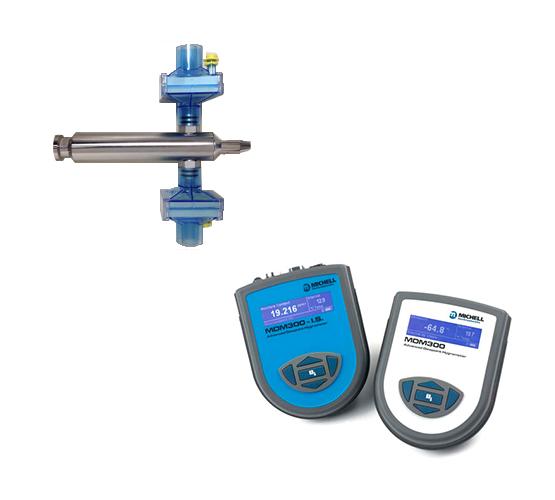 Compressed gas air comprimé CMI MDM300 Michell instrument