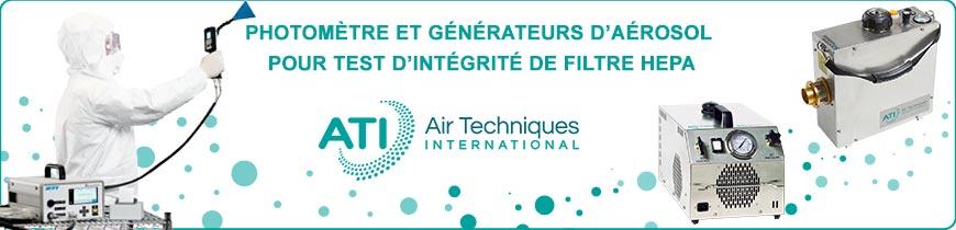 Photomètre et générateurs d'aérosol ATI