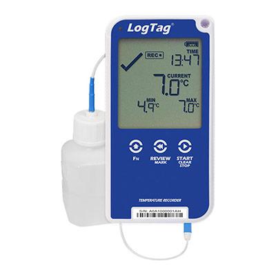 Enregistreur de température, recommandé pour les vaccins, avec écran et sonde externe Logtag