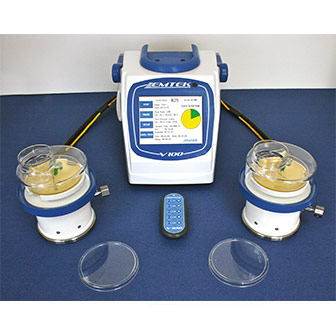 V100 Biocollecteur d'air avec tête rotative