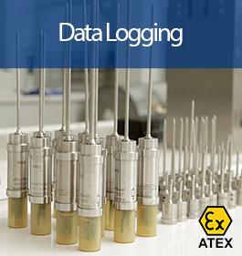 Data Logging with Atex logo
