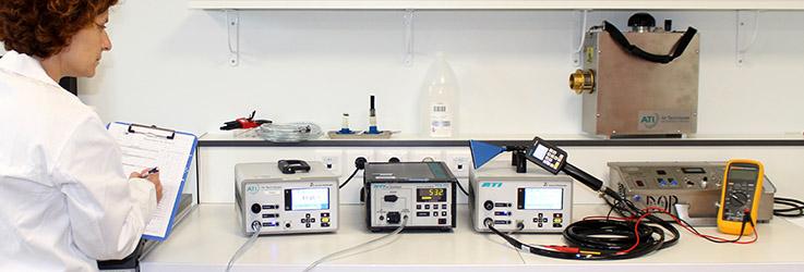 Etalonnage de photomètre en laboratoire en laboratoire