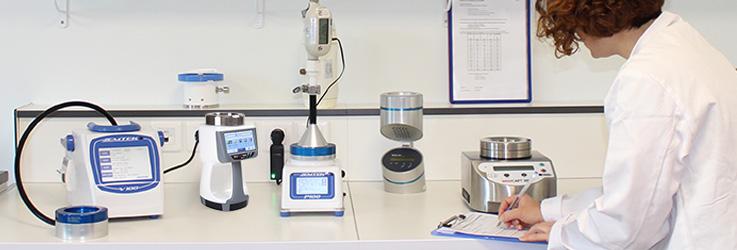 étalonnage des instruments biocollecteur d'air