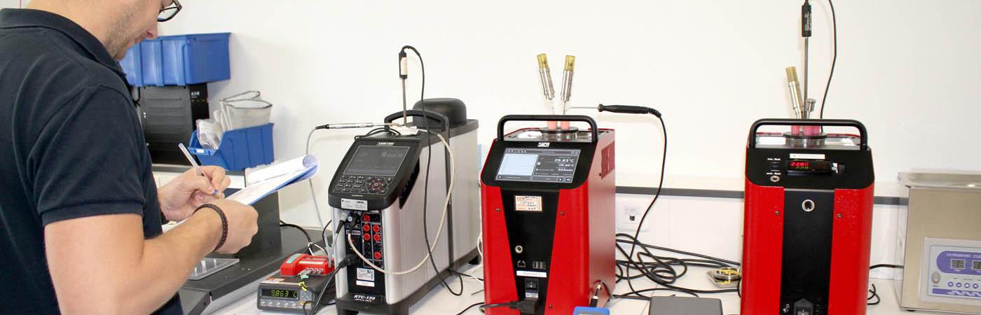 etalonnage en température