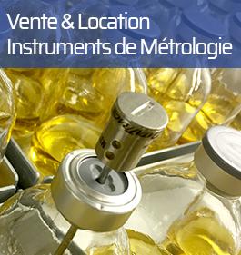 vente et location instrument de métrologie