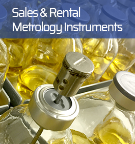 Sales and rental Of metrology instruments