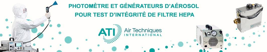 ATI Photmoètres et générateurs d'aérosol