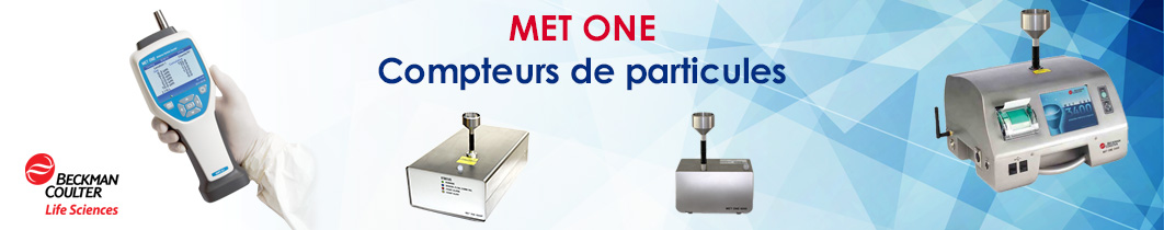Compteur de particules CMI Met One Beckman Coulter particle counter