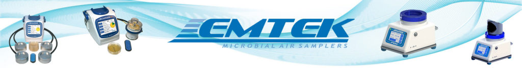 Banner microbial air sampler biocollecteur d'air EMTEK