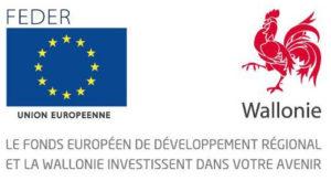 Fond européen de développement régional et la Wallonie investissement dans votre avenir