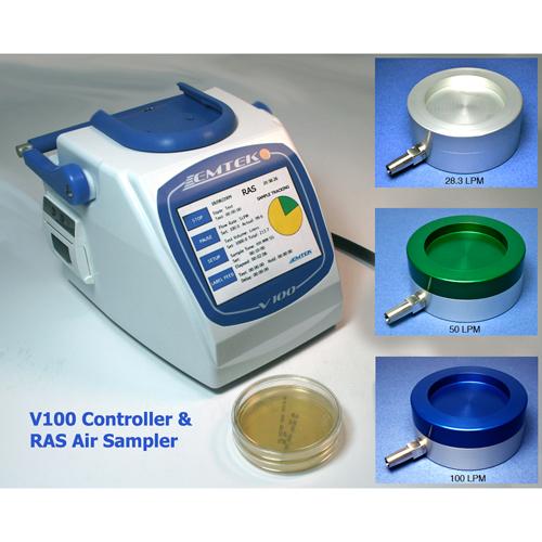 Emtek v100 biocollecteur d'air