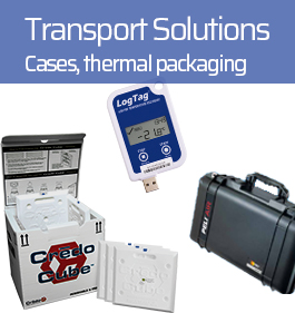 Solution de transport cases thermal packging