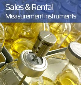 Sales & rental vente et location instruments de mesure