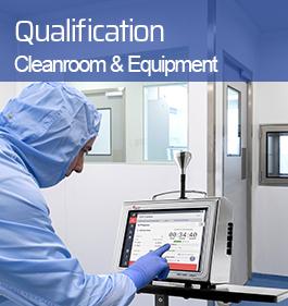 Qualification cleanroom & equipment