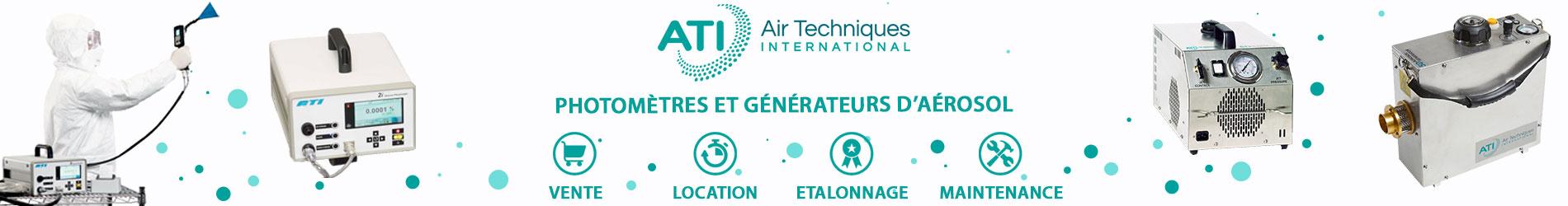 Photomètres et générateurs d'aérosol