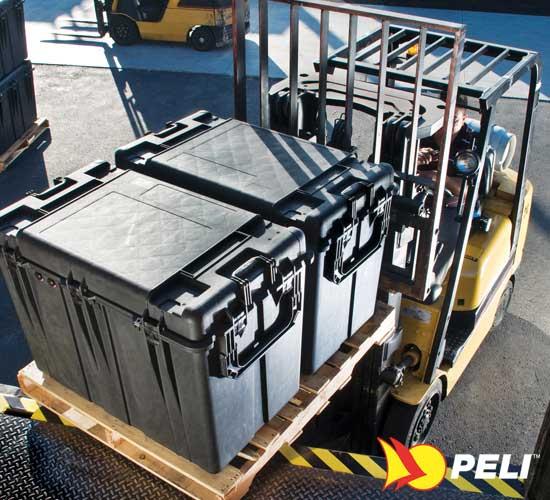 Peli container valise de protection